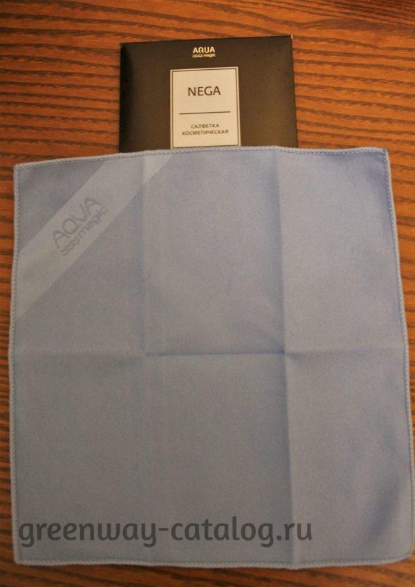 Косметическая салфетка Greenway Aquamagic Nega для лица