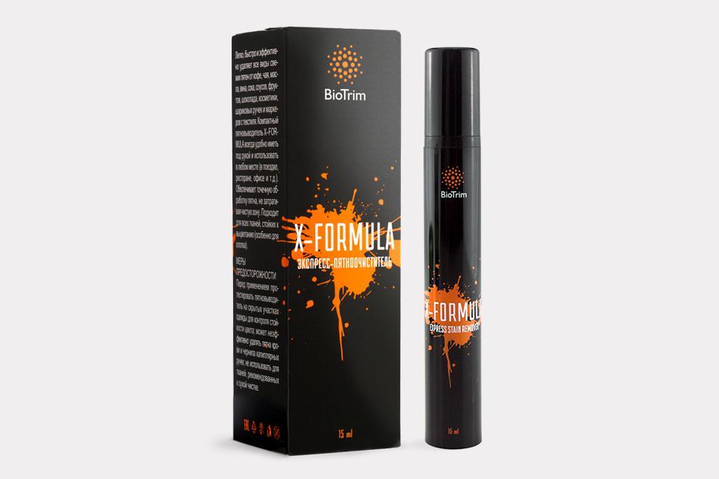 Экспресс пятновыводитель Гринвей BioTrim X-Formula